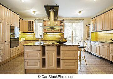 ilha, cozinha