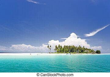 ilha tropical, paraisos