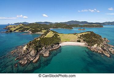 ilha, urapukapuka, recife