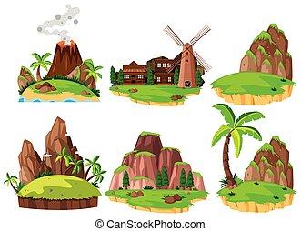 ilhas, diferente, jogo