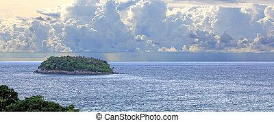 ilhas, mar andaman