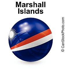ilhas marshall, oficial, bandeira estatal