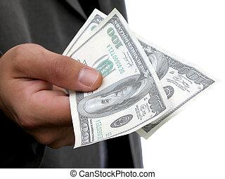 i'll, bezahlung, bargeld