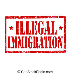 Illegal Immigration-stamp