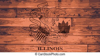 Illinois Flag Brand