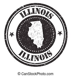 Illinois sign or stamp
