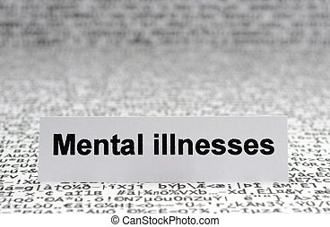 illnesses, mental
