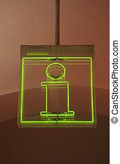 Information Sign - Illuminated Information Sign