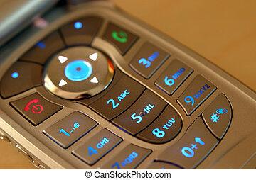 Illuminated Keypad - Mobile Phone, Illuminated Keypad