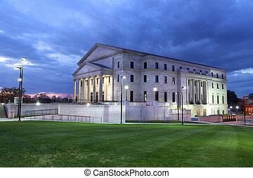 Mississippi state court house - Illuminated Mississippi ...