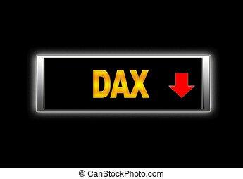 Dax negative.