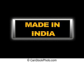 Made in India.