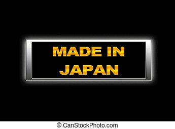 Made in Japan.