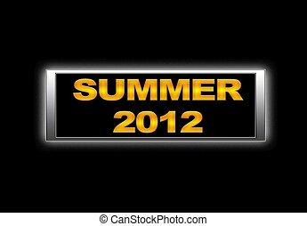 Summer 2012.