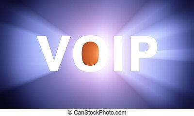 Illuminated VOIP