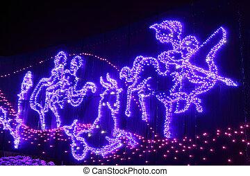Illumination christmas light