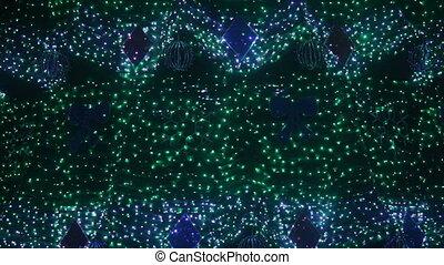 Illumination on Christmas tree