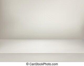 illuminato, stage., vettore, pubblicità, sagoma, bianco, illustration.
