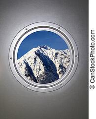 illuminator, mountain, snow & sky