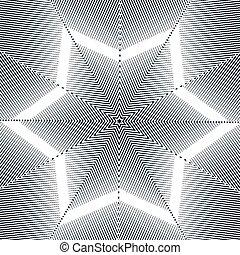 illusie, achtergrond, moire, optisch