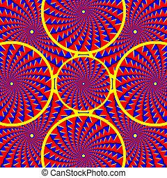 illusion), caleidoscopio, (motion