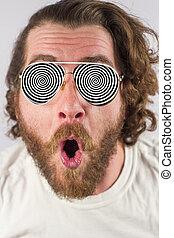 illusion, lunettes, optique