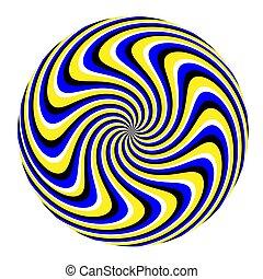 illusion), spinnen, (motion, marmer