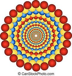 illusione, ottico