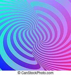 illusions., surréaliste, optique