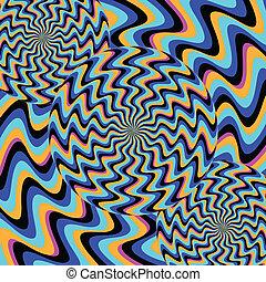 (illusory, motion), 정신병