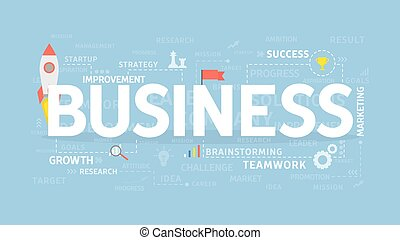 illustartion, concept., business