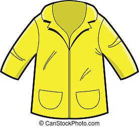 Raincoat - Illustartion of a Raincoat