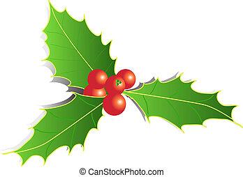 christmas decoration - illustrated christmas decoration...