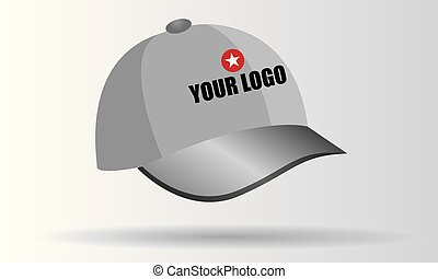 Illustrated vector Cap from Set of promotional gift series
