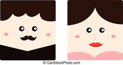 illustrateur, mariage