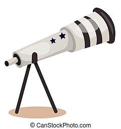 illustrateur, télescope