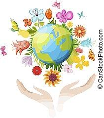 illustratie, aarde