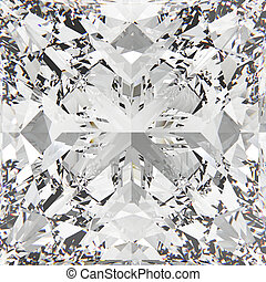 illustratie, diamant, oogst, textuur, 3d