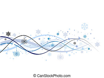 illustratie, kerstmis, achtergrond, vector, ontwerp, ...