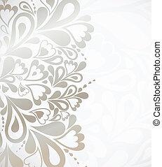 illustratie, ontwerp, zilver, achtergrond