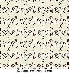 illustratie, van, kantachtig, rechthoeken, ruit, gedaantes, in, geometrisch, pattern.