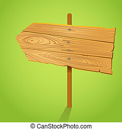 illustration., εδάφιο , ξύλο , βέλος , κενό , πληροφοριοδότης , φόρμα