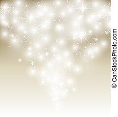illustration., μικροβιοφορέας , χειμώναs , φόντο , χιόνι