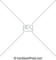 illustration., いいえ, イメージ, concept., ベクトル, watermark, 利用できる, ...