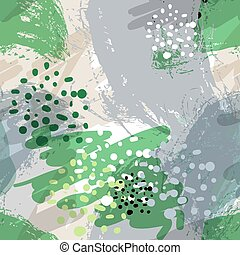 illustration., 単純である, パターン, pattern., seamless, 形, 定型, 明るい, ベクトル, 背景, hand-drawn
