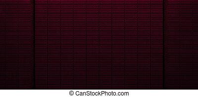 illustration), (3d, métal, sombre, réaliste, incandescent, fond, rouges