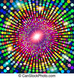 abstract background fashion with glare and stars. -...
