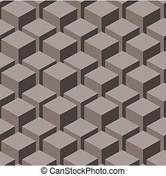 illustration., abstract, pattern., seamless, vector, geometrisch