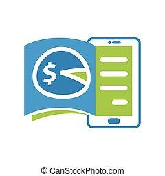 illustration, access., taxation, mobile