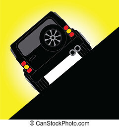 Off Road - Illustration an Off Road Car